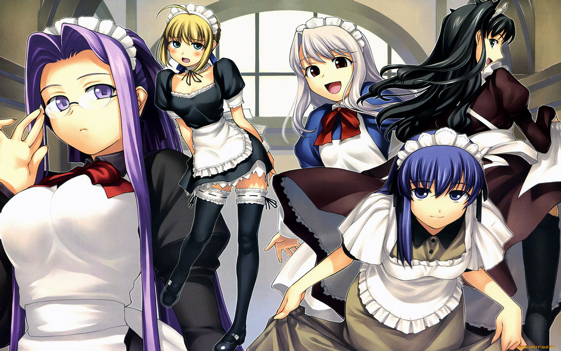 аниме, fate, stay, night
